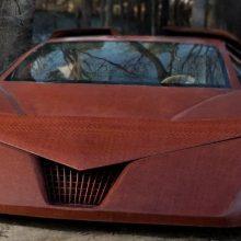 Интересные факты: автомобиль из дерева